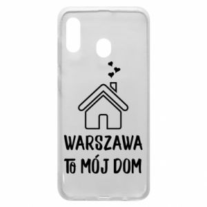 Etui na Samsung A20 Warsaw is my home