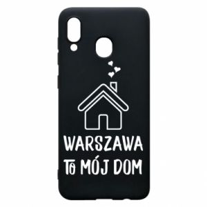 Etui na Samsung A30 Warsaw is my home - PrintSalon