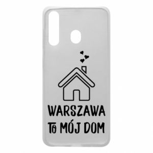 Etui na Samsung A60 Warsaw is my home - PrintSalon