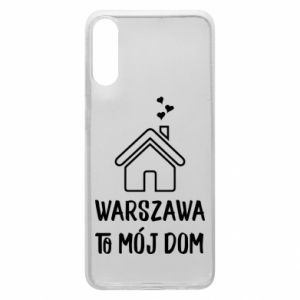 Etui na Samsung A70 Warsaw is my home - PrintSalon