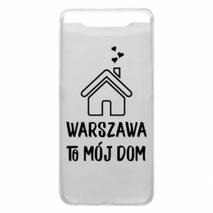 Etui na Samsung A80 Warsaw is my home - PrintSalon