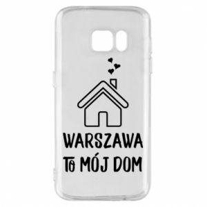 Etui na Samsung S7 Warsaw is my home - PrintSalon