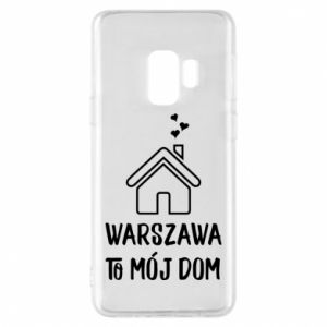 Etui na Samsung S9 Warsaw is my home - PrintSalon