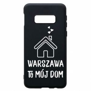Etui na Samsung S10e Warsaw is my home - PrintSalon
