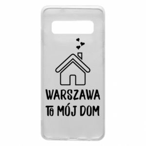 Etui na Samsung S10 Warsaw is my home - PrintSalon