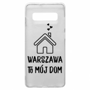 Etui na Samsung S10+ Warsaw is my home - PrintSalon