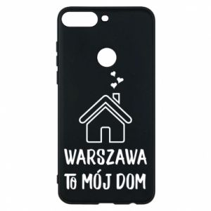 Etui na Huawei Y7 Prime 2018 Warsaw is my home - PrintSalon