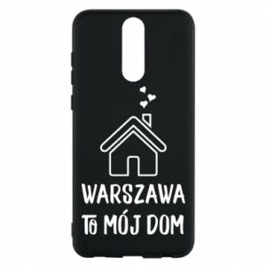 Etui na Huawei Mate 10 Lite Warsaw is my home - PrintSalon