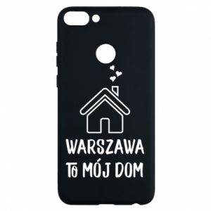 Etui na Huawei P Smart Warsaw is my home - PrintSalon