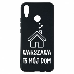 Etui na Huawei P Smart Plus Warsaw is my home - PrintSalon