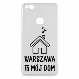 Etui na Huawei P10 Lite Warsaw is my home - PrintSalon