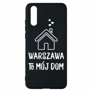 Etui na Huawei P20 Warsaw is my home - PrintSalon