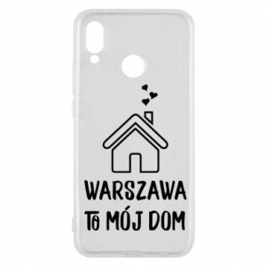 Etui na Huawei P20 Lite Warsaw is my home - PrintSalon