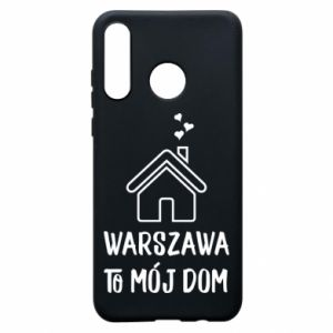 Phone case for Huawei P30 Lite Warsaw is my home