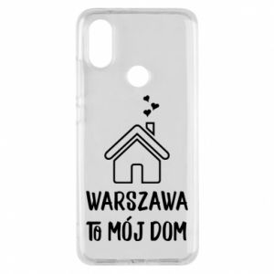 Etui na Xiaomi Mi A2 Warsaw is my home - PrintSalon