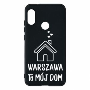 Etui na Mi A2 Lite Warsaw is my home