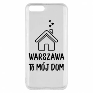 Etui na Xiaomi Mi6 Warsaw is my home - PrintSalon