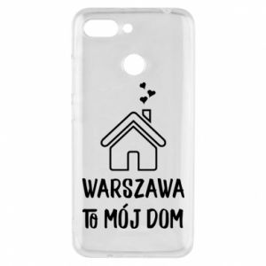 Etui na Xiaomi Redmi 6 Warsaw is my home - PrintSalon
