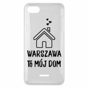 Etui na Xiaomi Redmi 6A Warsaw is my home - PrintSalon