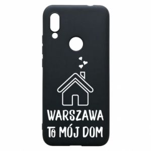 Etui na Xiaomi Redmi 7 Warsaw is my home - PrintSalon