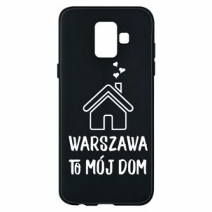 Etui na Samsung A6 2018 Warsaw is my home