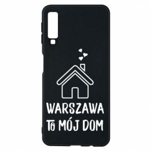 Etui na Samsung A7 2018 Warsaw is my home - PrintSalon