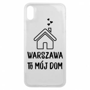 Phone case for iPhone Xs Max Warsaw is my home