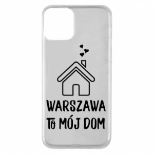 Phone case for iPhone 11 Warsaw is my home