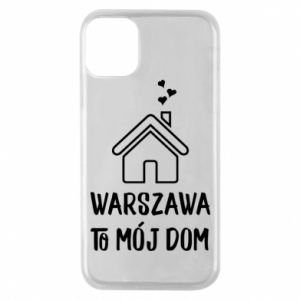 Phone case for iPhone 11 Pro Warsaw is my home