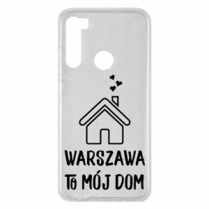 Etui na Xiaomi Redmi Note 8 Warsaw is my home