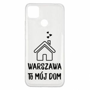 Etui na Xiaomi Redmi 9c Warsaw is my home