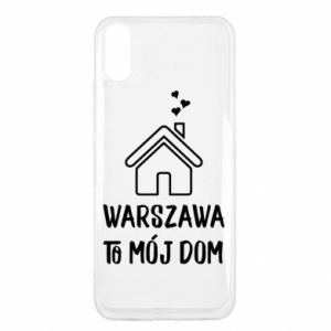 Xiaomi Redmi 9a Case Warsaw is my home