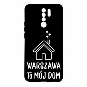 Etui na Xiaomi Redmi 9 Warsaw is my home