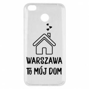 Etui na Xiaomi Redmi 4X Warsaw is my home