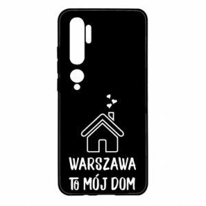 Etui na Xiaomi Mi Note 10 Warsaw is my home