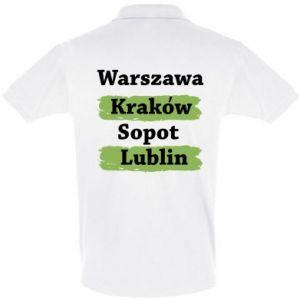 Koszulka Polo Warszawa, Kraków, Sopot, Lublin