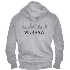 Men's zip up hoodie Warsaw