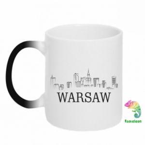 Kubek-kameleon Warsaw