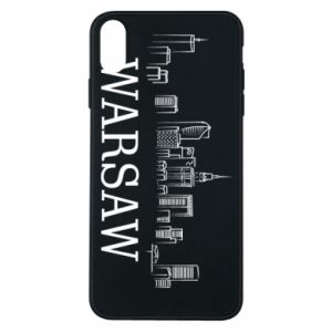 Phone case for iPhone Xs Max Warsaw