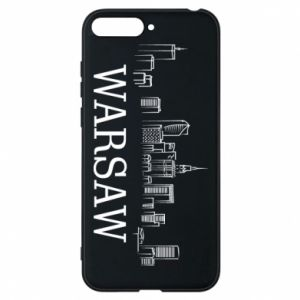 Phone case for Huawei Y6 2018 Warsaw