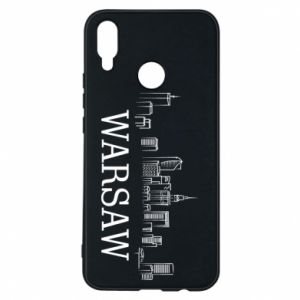 Phone case for Huawei P Smart Plus Warsaw