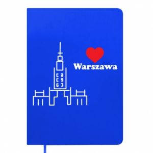 Notepad Warsaw I love you