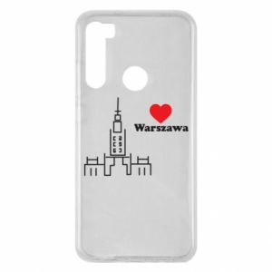 Etui na Xiaomi Redmi Note 8 Warszawa kocham cię