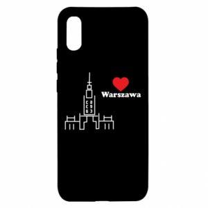 Xiaomi Redmi 9a Case Warsaw I love you