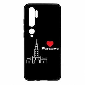 Xiaomi Mi Note 10 Case Warsaw I love you