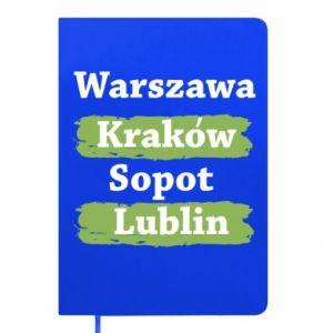 Notepad Warsaw, Krakow, Sopot, Lublin