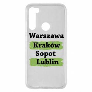 Xiaomi Redmi Note 8 Case Warsaw, Krakow, Sopot, Lublin