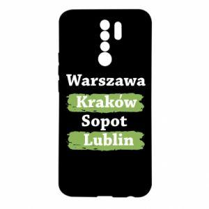 Etui na Xiaomi Redmi 9 Warszawa, Kraków, Sopot, Lublin