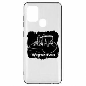Etui na Samsung A21s Warszawa. Zamek