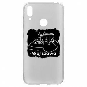 Etui na Huawei Y7 2019 Warszawa. Zamek